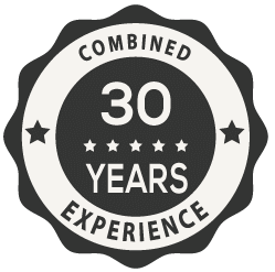 Combined 30 Years Experience
